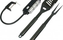 BBQ Light & Tool Set