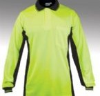 Long Sleeve Hi-Visibility Cotton Backed Polyester