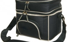 B6002 2 Layers Lunch Box/ Picnic Cooler Bag