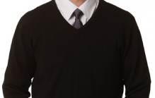 M9502 Men's V-Neck Long Sleeves Jumper