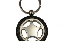 JK034 WHEEL SHAPE KEYRING