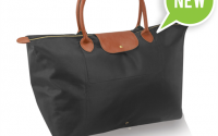 Lesiure Foldable Tote -Black